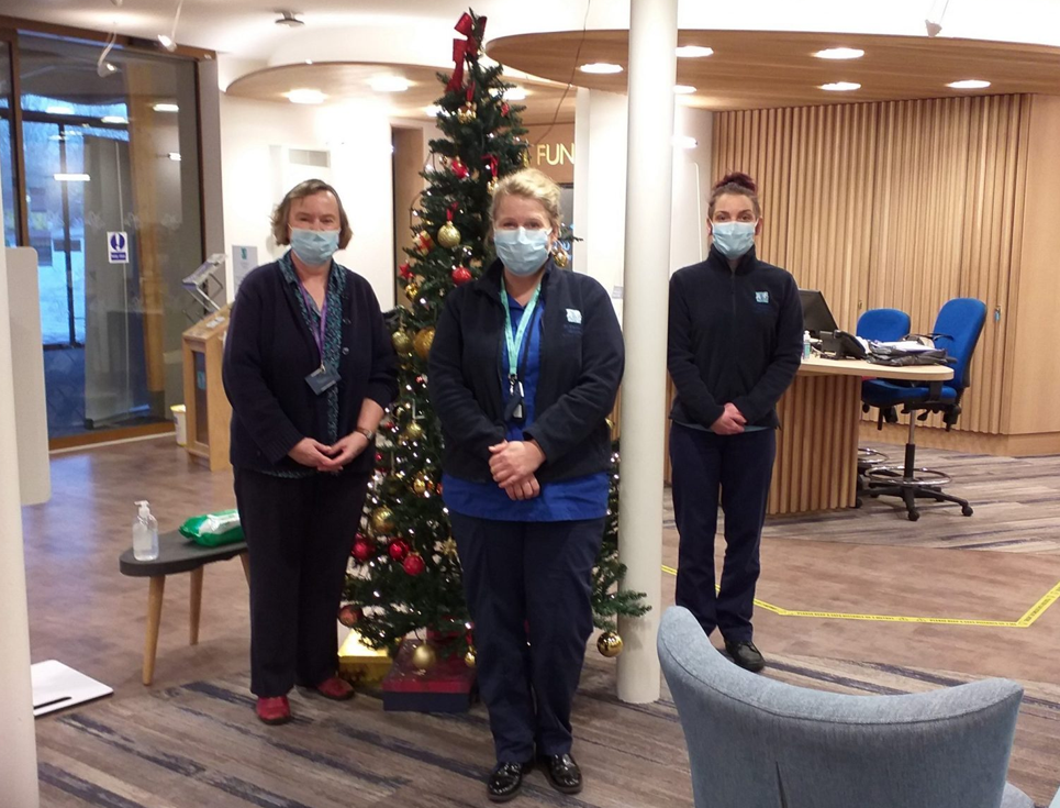 St Richard's Community Team at Christmas