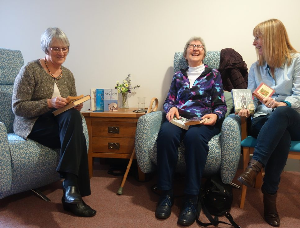 Living Well Centre social groups - love books