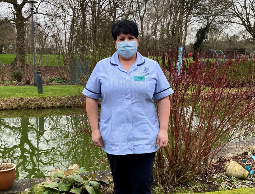 NEW UNIFORMS BOOST FOR HOSPICE