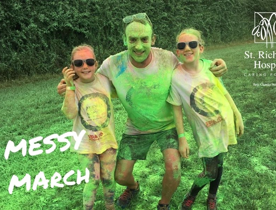 messy march