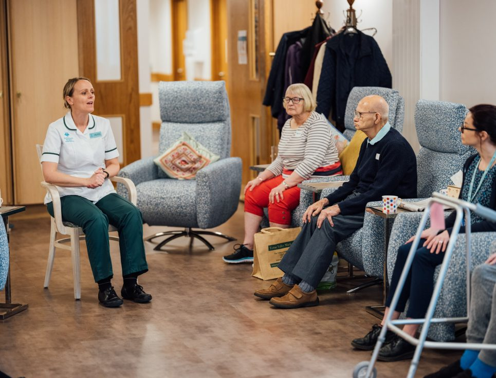 OT Claire Roach in Living Well Centre