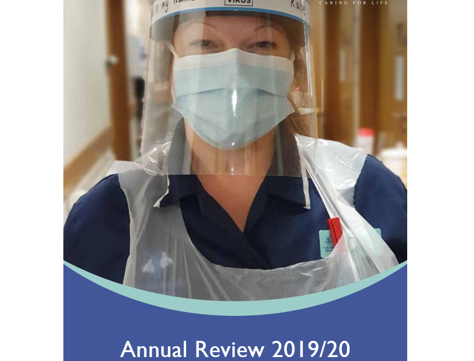 annual review front page